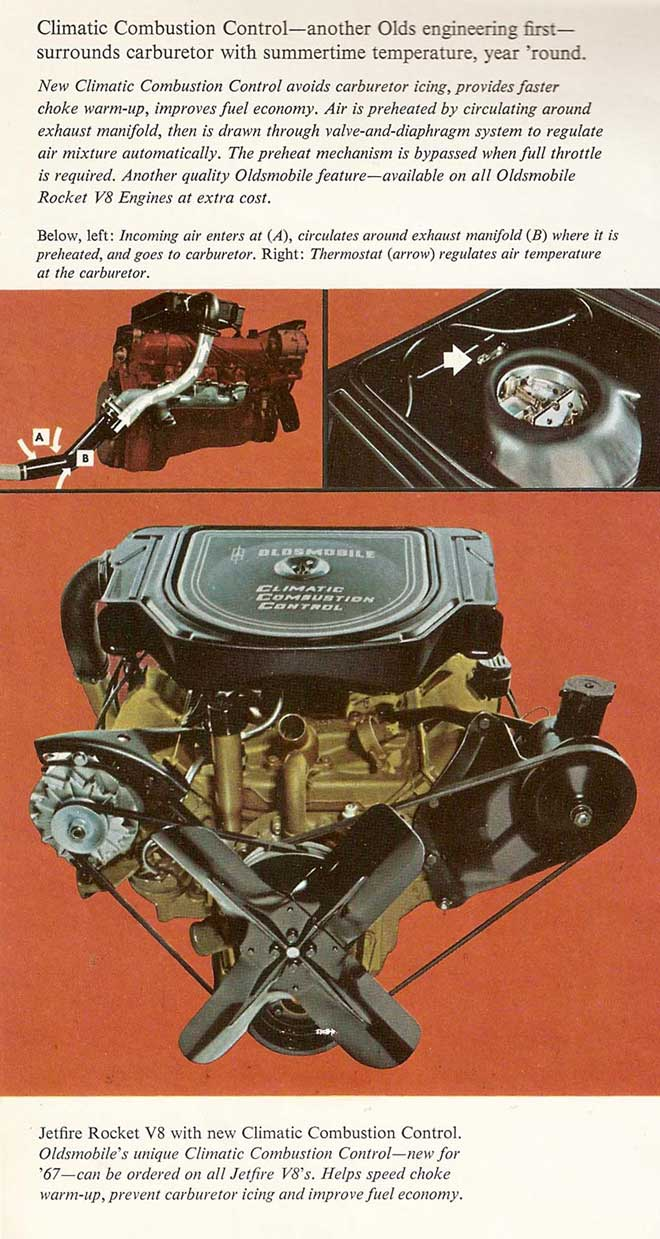 1967 Oldsmobile Cutlass Supreme Turnpike Cruiser 400 Engine Cooling Diagram This System Was Optional On Other Engines And Later Became A Standard Item Most Us Cars In The 1970s Below Is Of